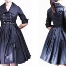 VINTAGE MILITARY SWING DRESS