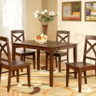 "Lisbon  Rectangular Dinette Kitchen Table -Size 36""x 48"".  In Espresso Color.  SKU: LB-T-ESP"