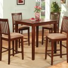 Vernon Square Pub Table  - in Mahogany Finish.  SKU: VN1-T-MAH