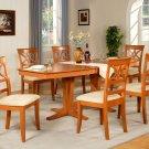 "Ellington  Dining Table Set-40""X82""-extension leaf- in Light Cherry.  SKU: ELT14-T-CH20"
