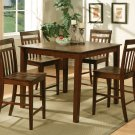 "East West quare Pub Counter Height Table Dinette -Size: 42""x42"" in Espresso.  SKU:  EWPT-ESP"