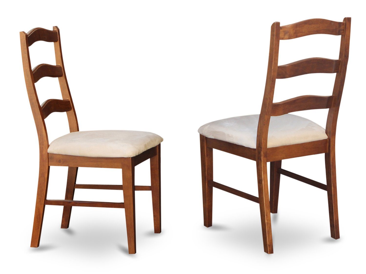 Set of 2 Henley dining room chairs in Espresso & Cinamon finish.