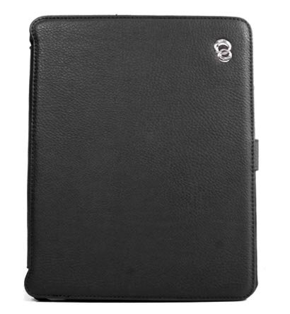 Kroo Couture Case w/ Kick Stand for Apple iPad (Color: Black/12025)