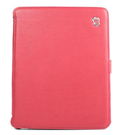 Kroo Couture Case w/ Kick Stand for Apple iPad (Color: RED/12028)
