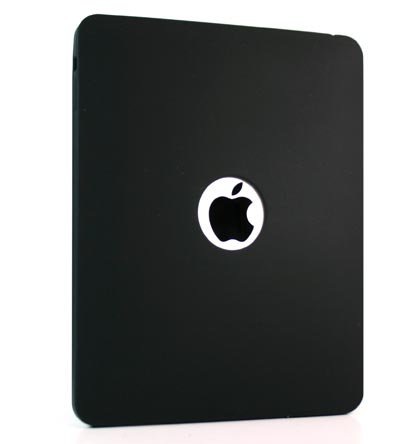 Kroo Silicone Skin Case for Apple iPad (Color: BLACK/11933)