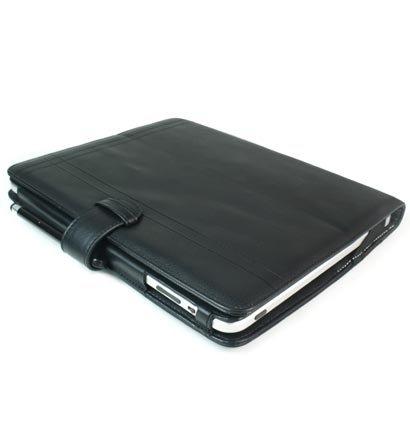 Kroo Manhatta Case for Apple iPad (Color: Black Melrose/11925)