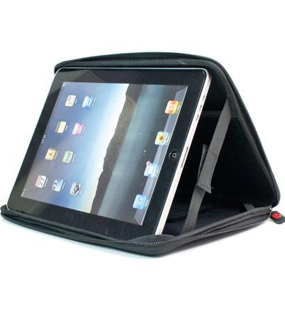 "Kroo Cube Hard Eva Case fits up to 9"" Tablets (Color: BLACK/12029)"