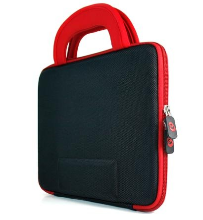 "Kroo Dice Case fits up to 9"" Tablets (Color: RED/11881)"