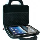 """Kroo Dice Case with Cushions fits up to 9"""" Tablets (Color: BLACK/11985)"""