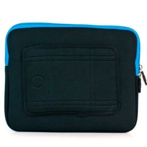 "Kroo Mass Case fits up to 9"" Tablets:  (Color: BLUE/11996)"