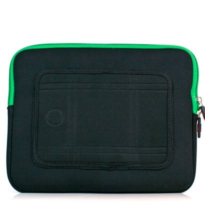 """Kroo Mass Case fits up to 9"""" Tablets (Color: GREEN/11997)"""