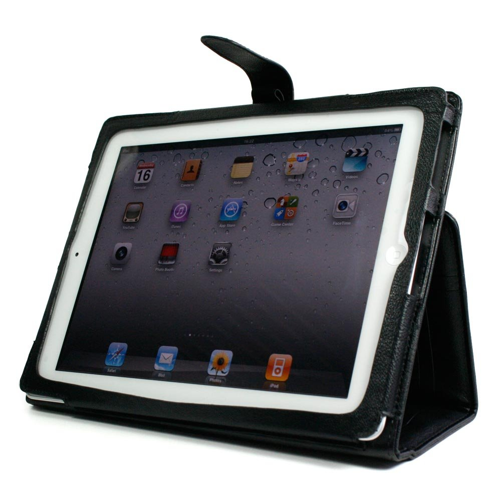 Kroo Manhattan Case for Apple iPad 2 (Color: BLACK/12161)
