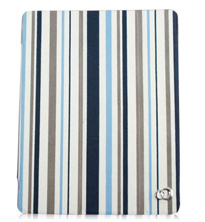 Kroo Tri-PAD Flex Case for Apple iPad 2 (Color: BLUE/12163)