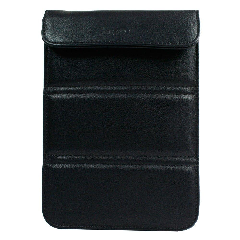 """Kroo Wrapper Case fits up to 7"""" eReaders (Color: BLACK/12088)"""