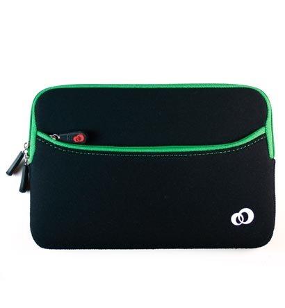 "Kroo Glove 2 Neoprene Sleeve Case fits up to 7"" eReader (Color: GREEN/11785)"