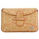 """Kroo Eco-Friendly Envelope Case fits up to 7"""" eReader (Color: BROWN/12058)"""