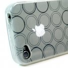 Kroo Flex Circle Case fits Apple iPhone 4 (Color: CLEAR/11961)