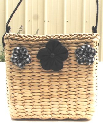 Cornhusk Basket Mini Handbag