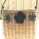 Cornhusk Basket Mini Handbag