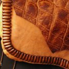 Genuine Leather One Of A Kind Shoulderbag/Handbag, Butterscotch