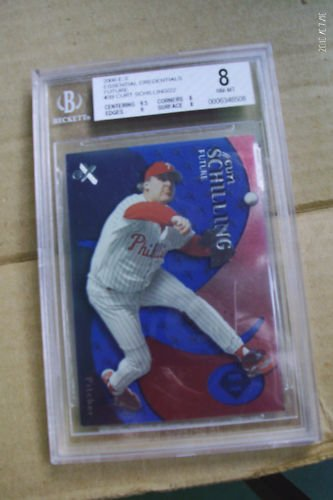 2000 EX Essentials Credentials Future Curt Schilling/22 Reduced again!!!!