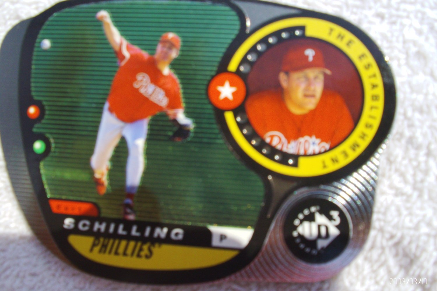 "1998 UD3 ""The Establishment"" Curt Schilling #d/2000"