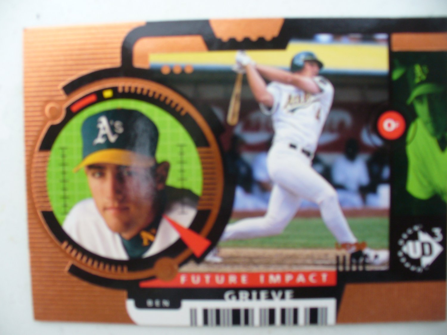 "1998 UD3 ""Future Impact"" Ben Grieve Rookie Card"