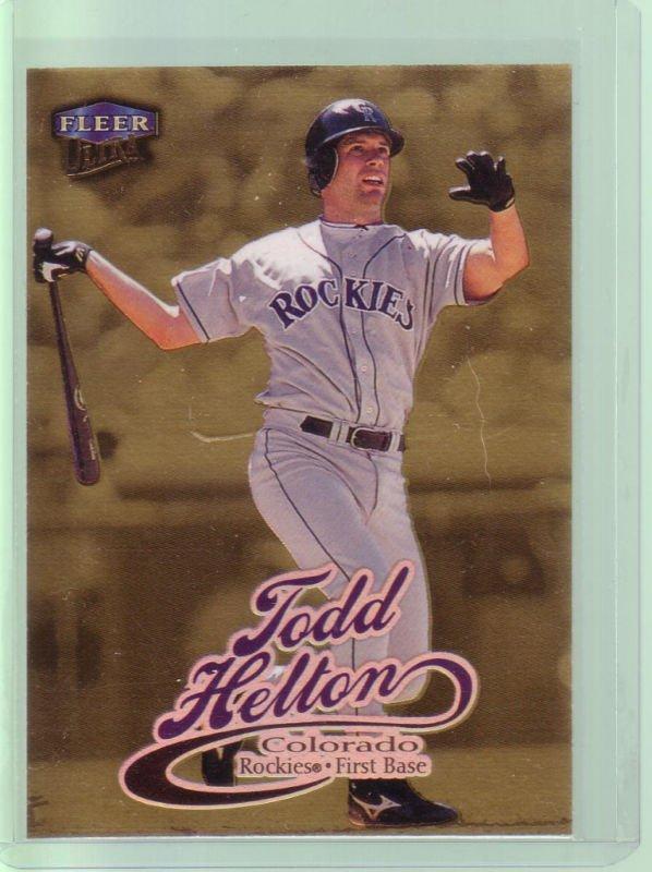 "1999 Ultra ""Gold Medallion"" Tood Helton"