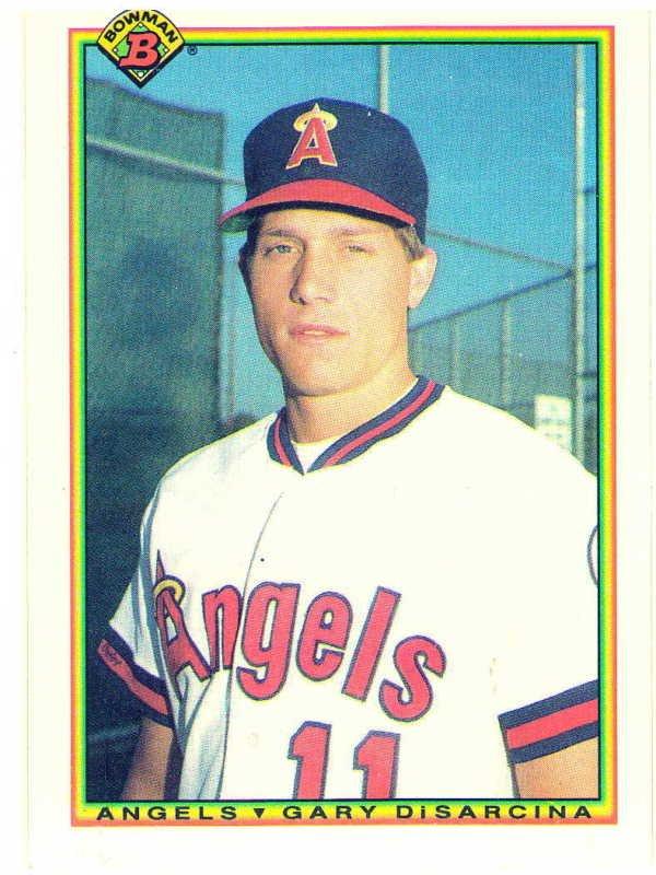 1990 Bowman Gary Disarcina Rookie Card