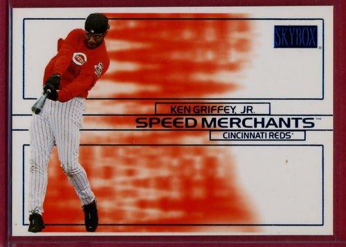 2000 Skybox Speed Merchants Ken Griffey, Jr