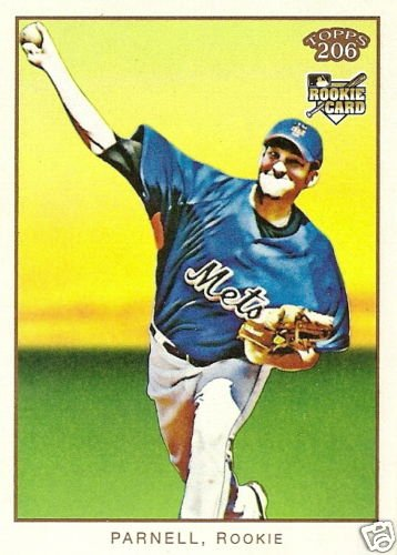 2009 Topps 206 Bobby Parnell Rookie Card