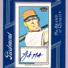 2009 Topps 206 Luke Montz Autograph Card