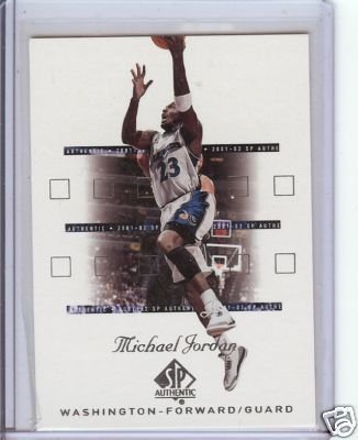 2001-02 SP Authentic Michael Jordan   (Sample)