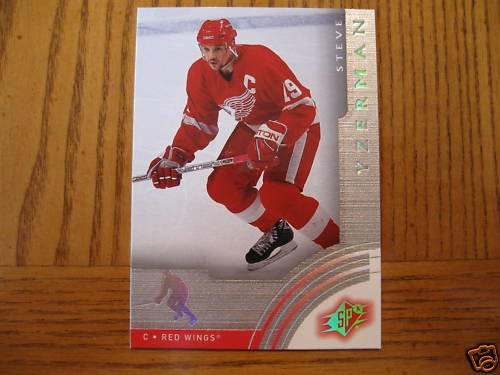 2001-02 SPx Steve Yzerman  SAMPLE