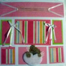 My Girl 12x12 PreMade Scrapbook Page