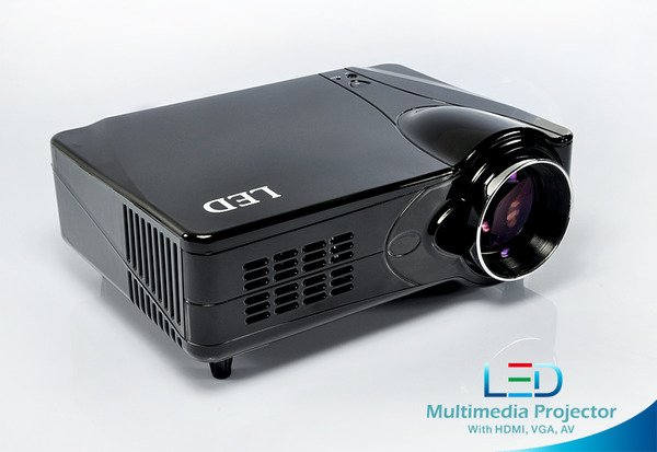 Full HD LED Projector 50,000 Hours Bulb USB SD HDMI
