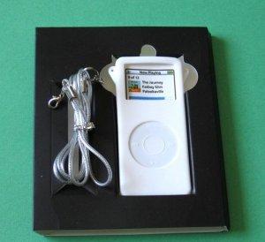 I-pod iPod Nano Silicone Skin Case White Apple MP3 MP4