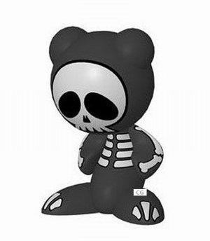 Radica UB Funkeys The Bones