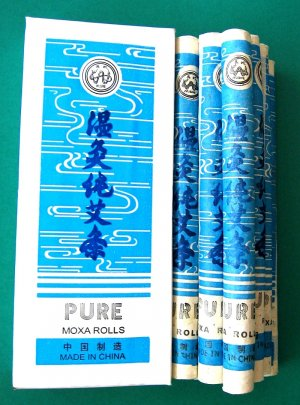 Acupuncture Pure Moxa Rolls 10Pcs