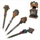 ** NEW **  Pirate Figural Pens - Lot of 24