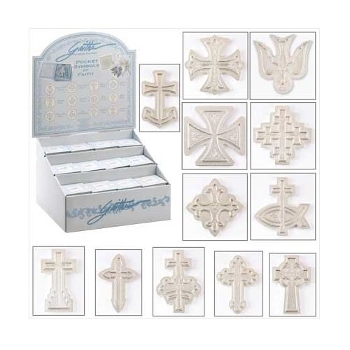 Pocket Symbols Of Faith--Lot of 36 SHIPS FREE! SEE NOTE