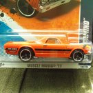 Hot Wheels 68 El Camino Muscle Mania 2011