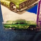 Hot Wheels 2013 59 Chevy Impala HW Showroom 220/250 Green
