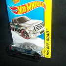 Hot Wheels 2014 2009 Ford F 150 Pick Up Truck Grey Off Road