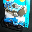 Hot Wheels New 2014 So Plowed City Truck Blue