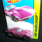 Hot Wheels 2014 1969 Corvette Workshop Heat Fleet