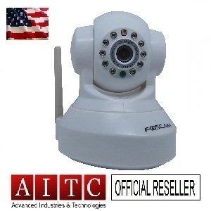 Foscam FI8918W-Wireless IP Camera-1XWhite (Tax+Free 48 hours USPS Priority Delivery)