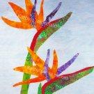 8x10 Tropical BIRD of PARADISE Flowers - Premium Metallic Print