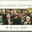 MY COUNTRY TIS OF THEE (4 CD) Reader's Digest Patriotic Music America