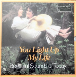 YOU LIGHT UP MY LIFE (8 LP Box Set) Reader's Digest - Romantic Strings